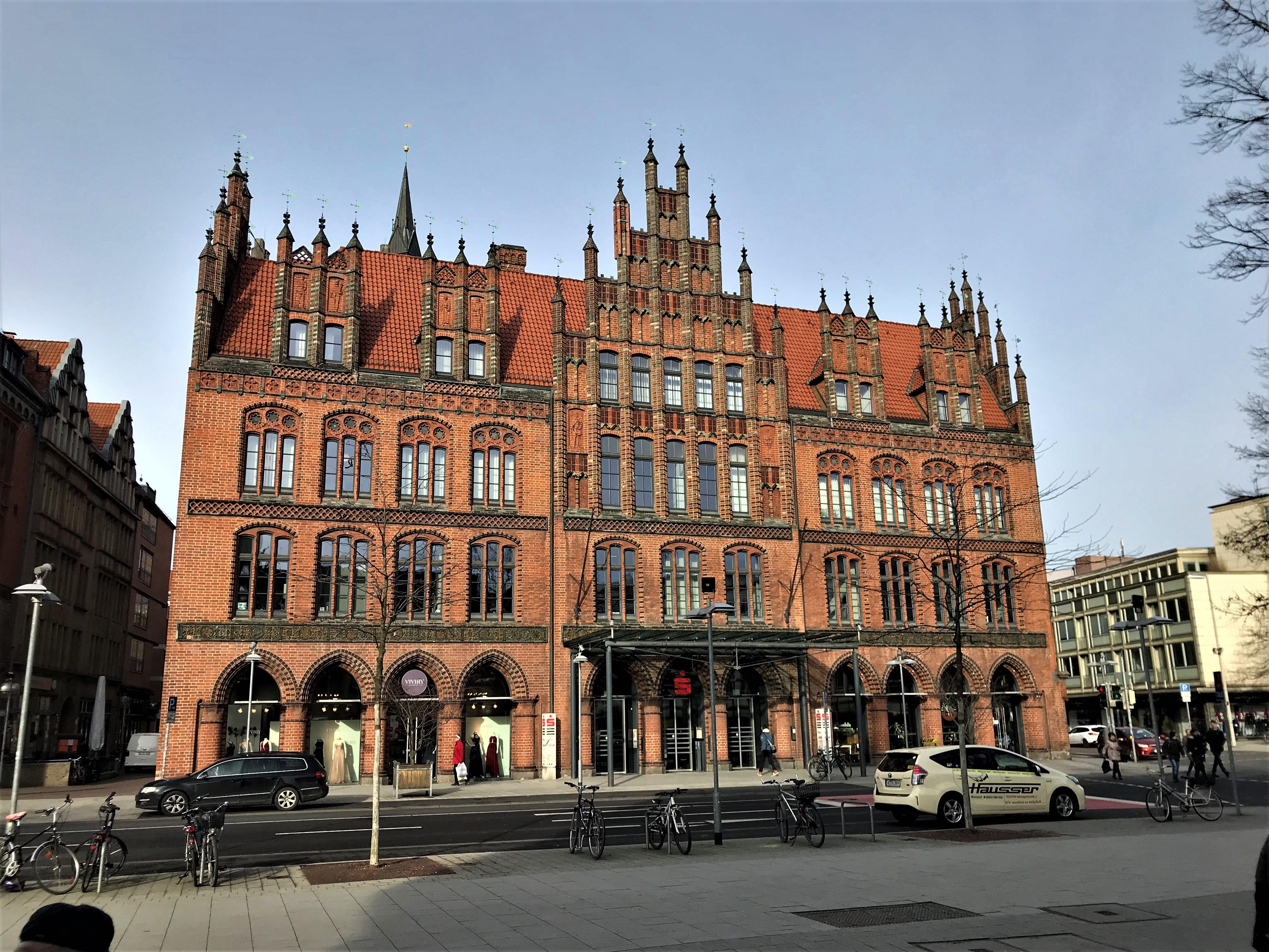Untersuchungsarbeiten Altes Rathaus Hannover