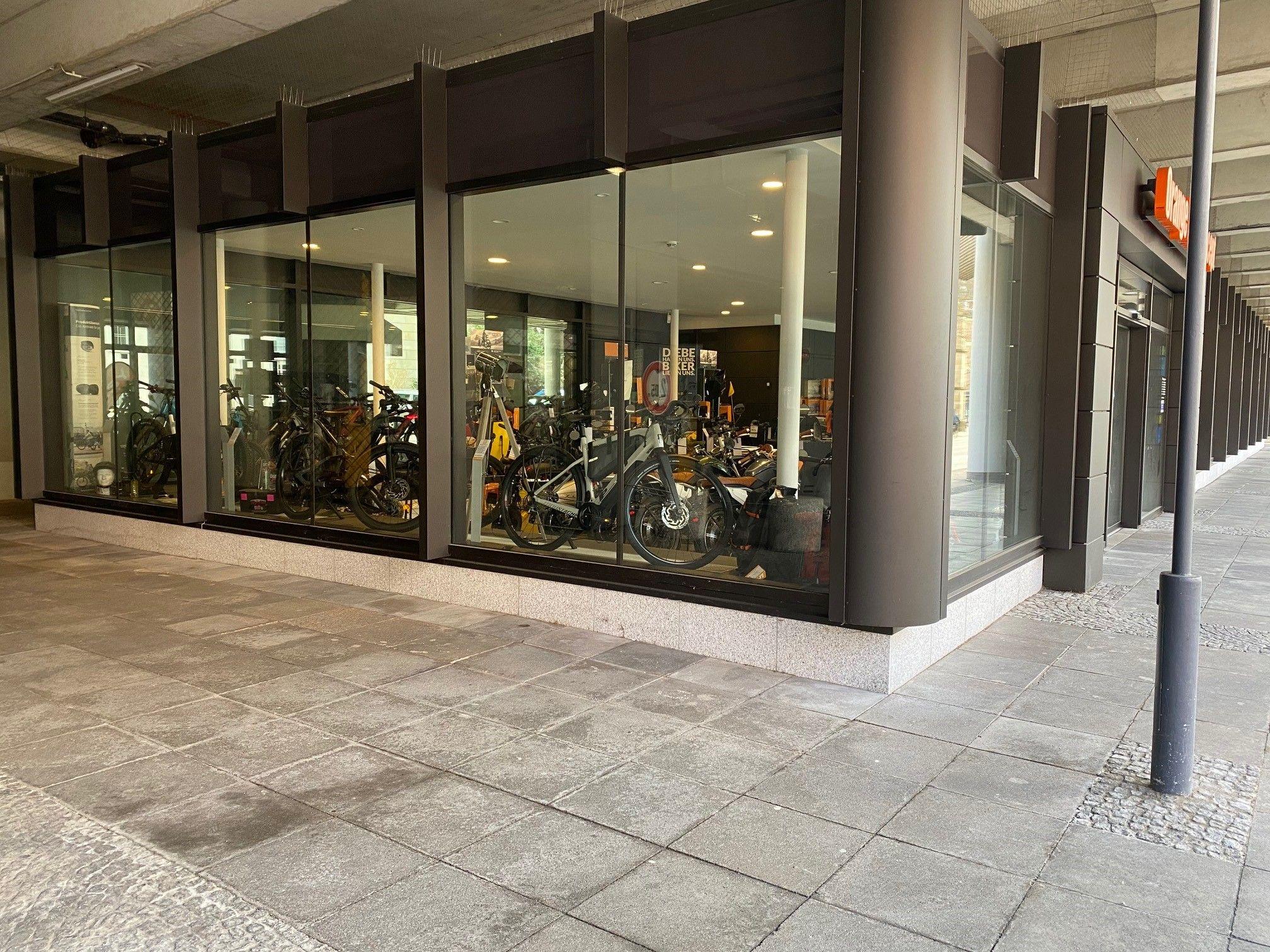 Umbau Fahrradladen