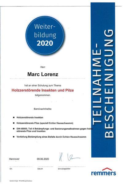 Bescheinigung-Remmers-Holzzerstorende-Insekten-und-Pilze-2020